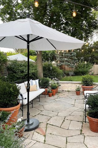outdoor summer decor