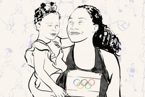 moms summer olympics
