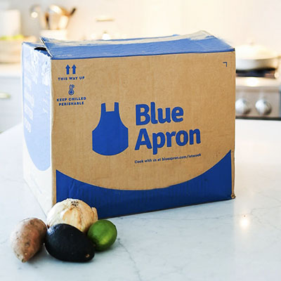 blue apron subscription meal kit