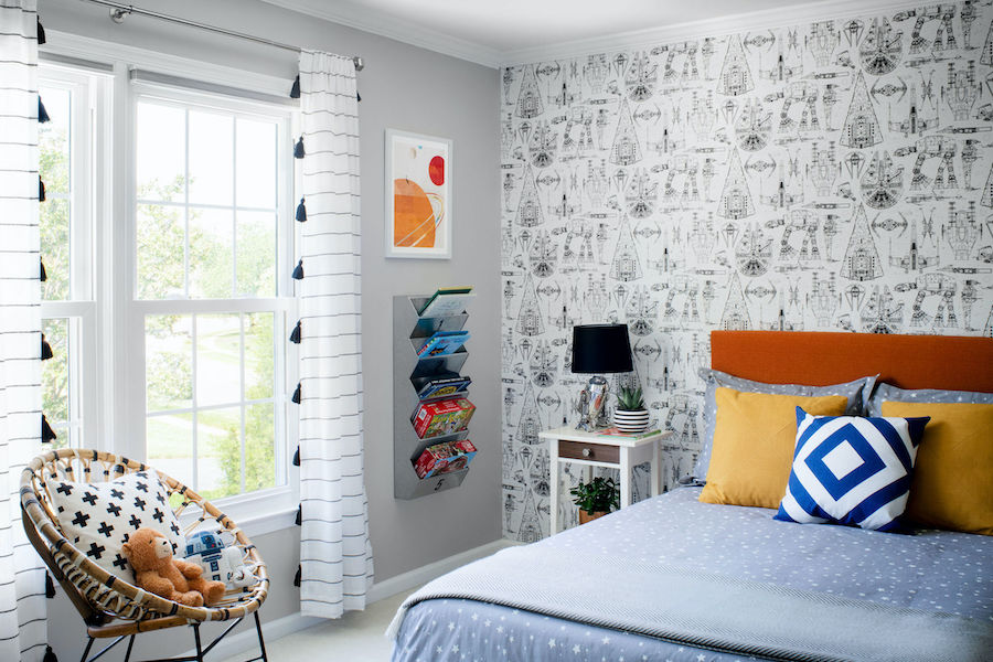 Side View of Sons Bedroom