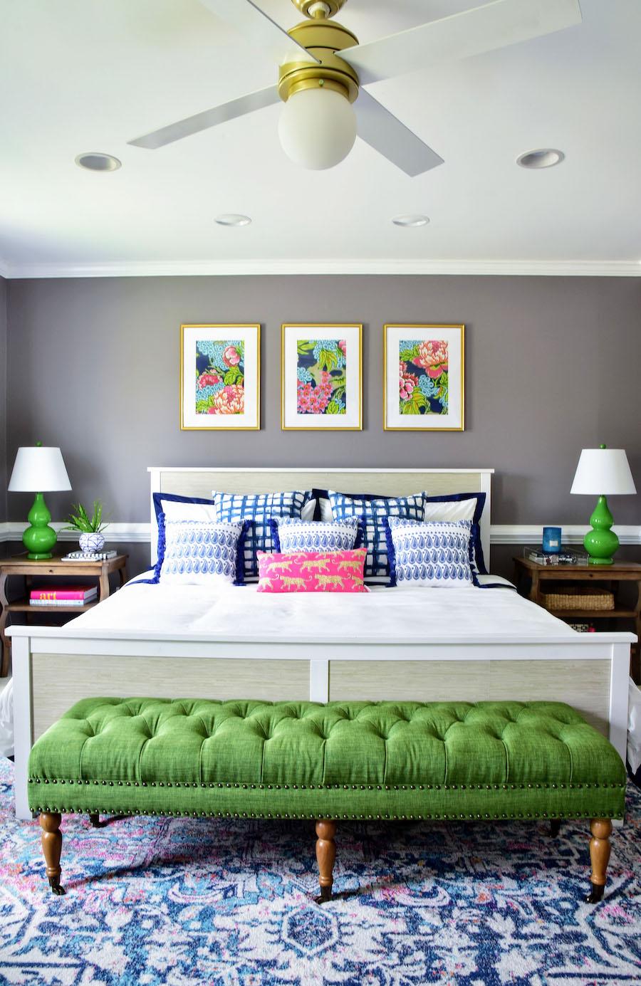 home tour bright and bold decor