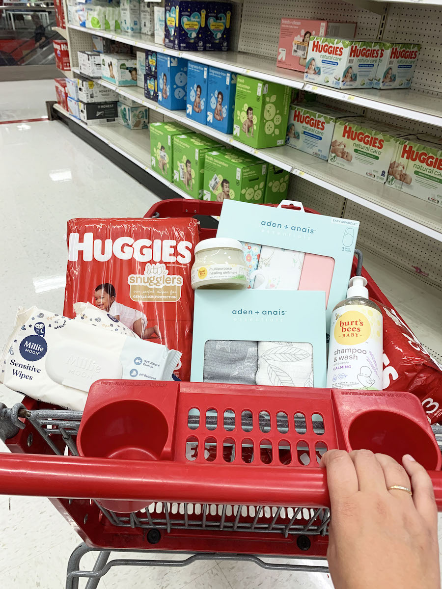 target baby brands products