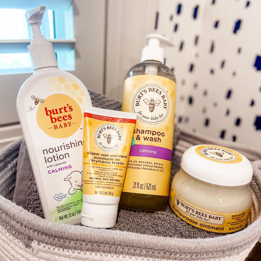 burt's bees baby products