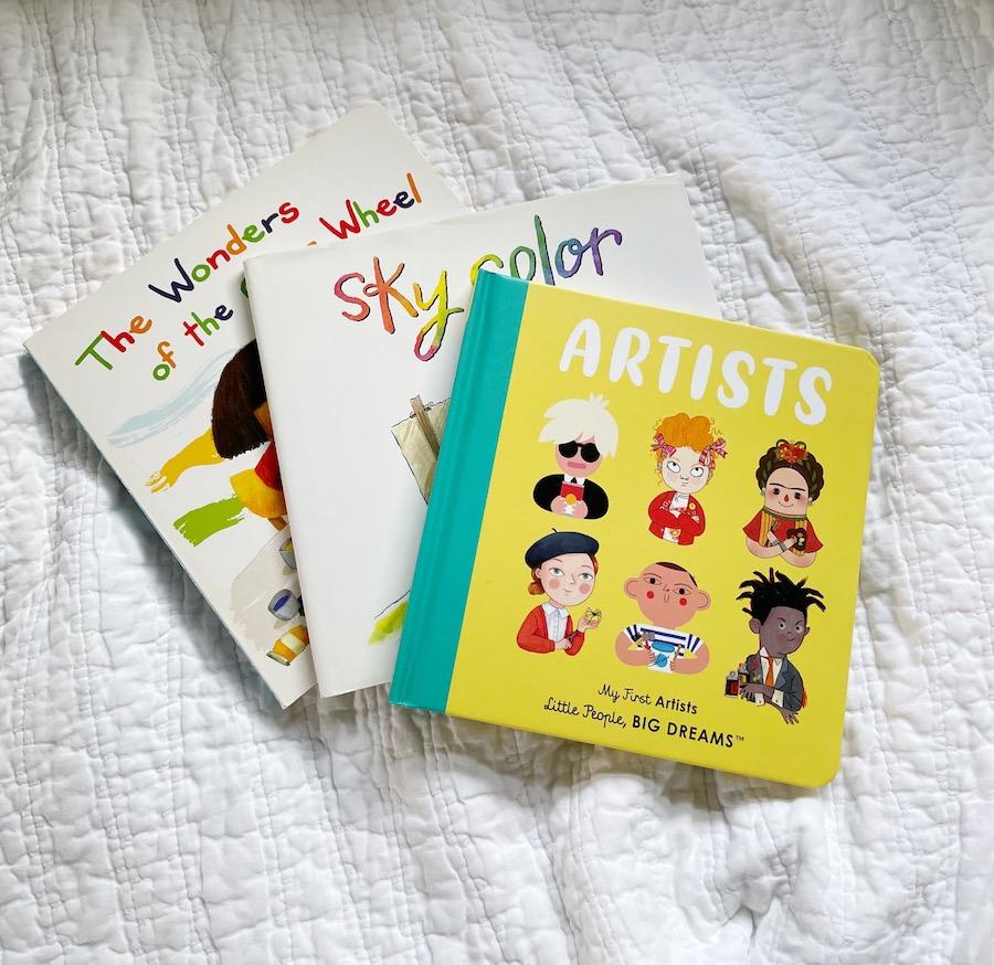 little artist book