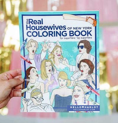 real housewives coloring book