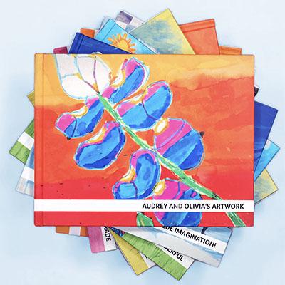 artkive kids art book