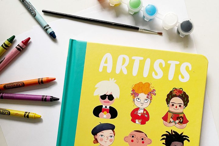 encourage little artists at home