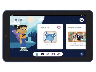 google kids space tablet