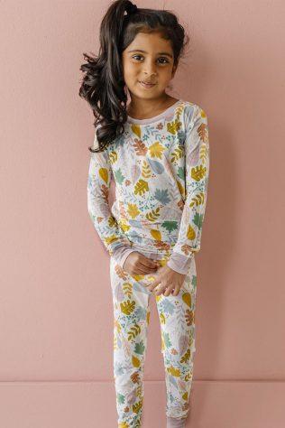 kids fall pajamas
